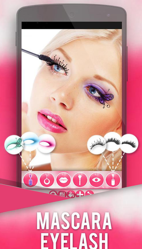 Makeup Photo Grid Beauty Salon-Fashion Style screenshot 1