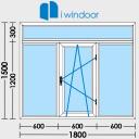 Dessiner des fenêtres en PVC