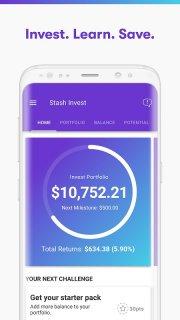Stash: Invest. Learn. Save. screenshot 2