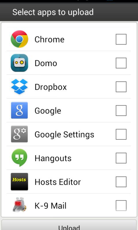 Aptoide Uploader screenshot 2