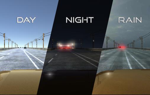 VR Racer - Highway Traffic 360 (Google Cardboard) screenshot 9