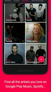 Songkick Concerts screenshot 2