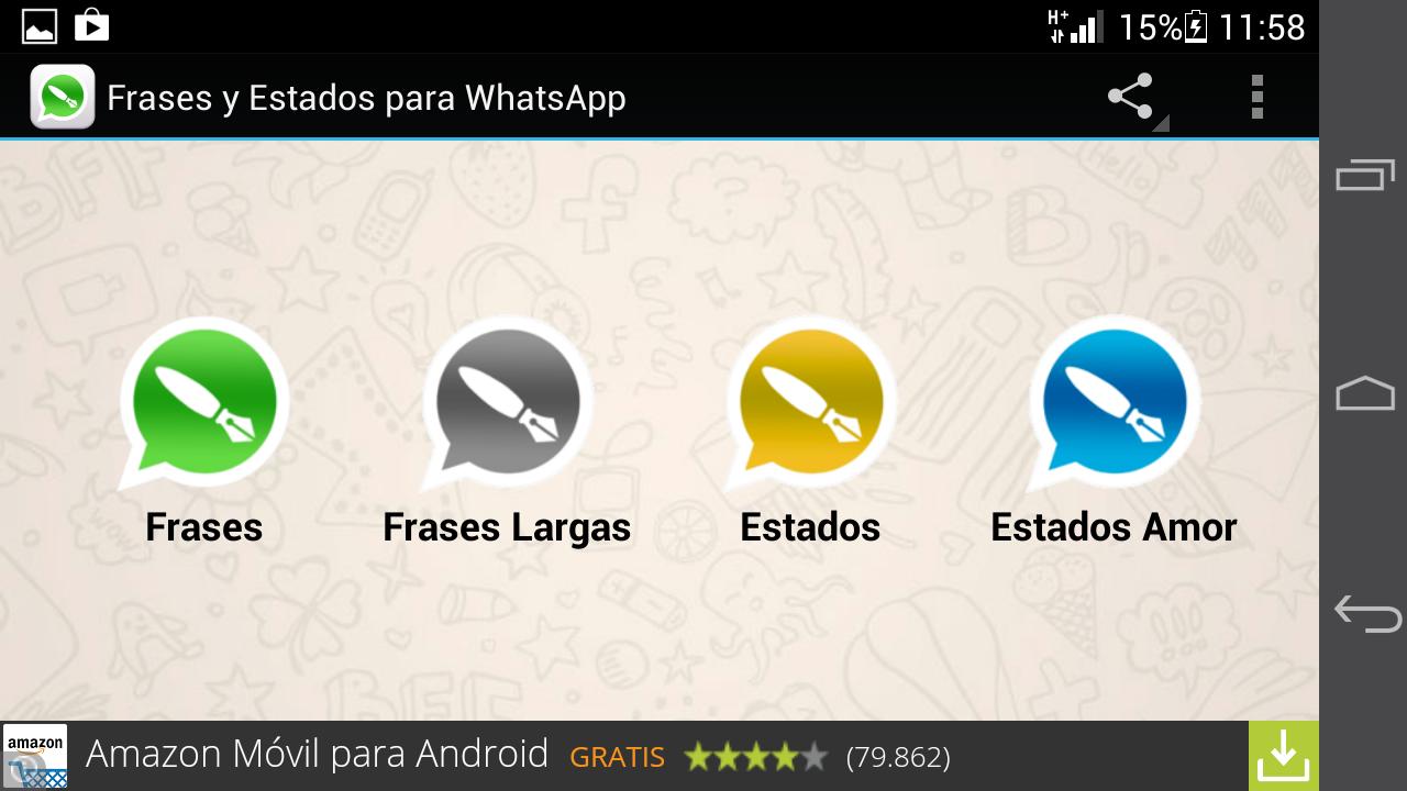 Estados Y Frases Para Whatsapp 11 Android Apk Herunterladen