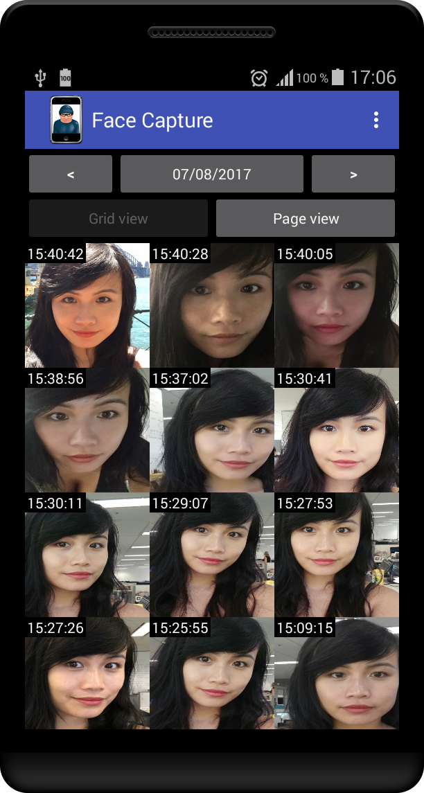 Face Capture screenshot 1