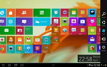 windows 8 metro launcher pro screenshot 1