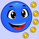 Der blau Ball