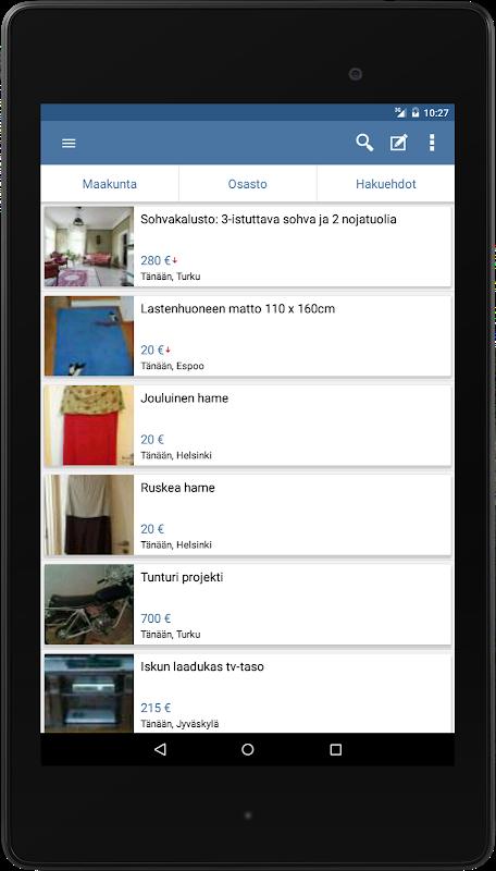 Tori.fi - Suomen suosituin kauppapaikka screenshot 2