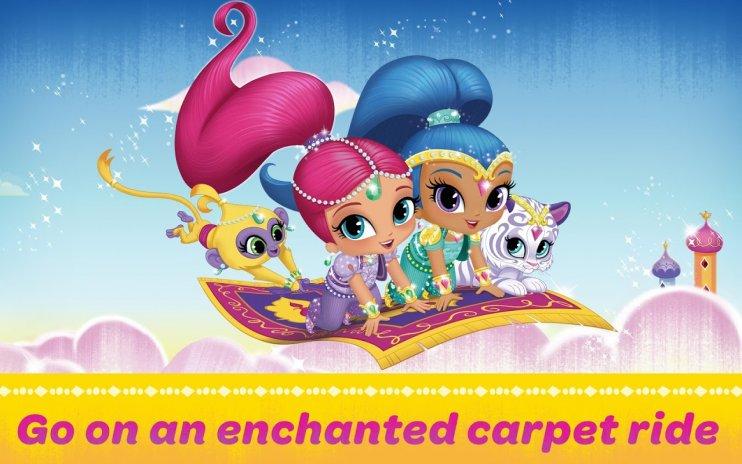 تحميل APK لأندرويد - آبتويد Shimmer and Shine: Carpet Ride1 0 9
