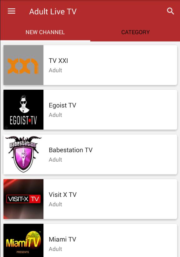 adult channels live