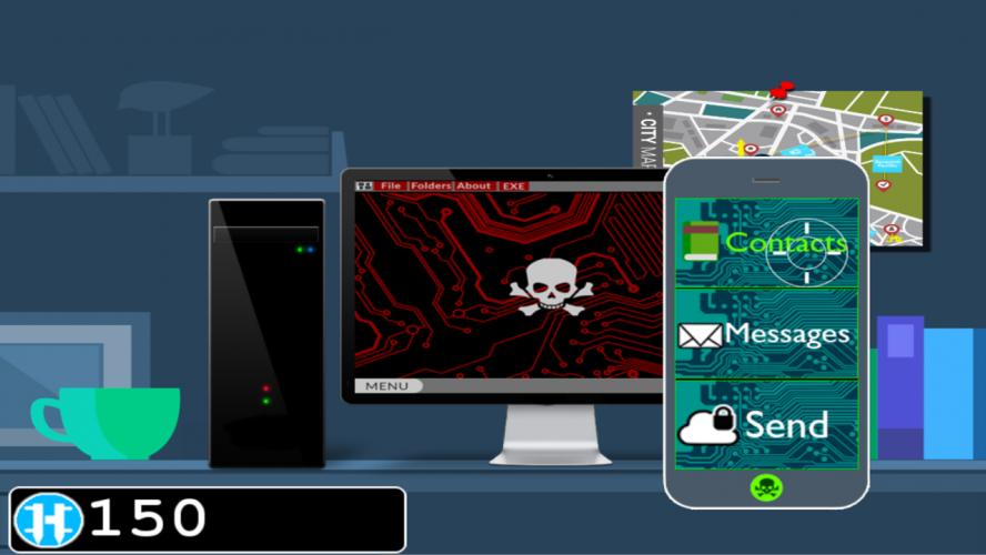 Hacker.exe - Mobile Hacking Simulator Free screenshot 1