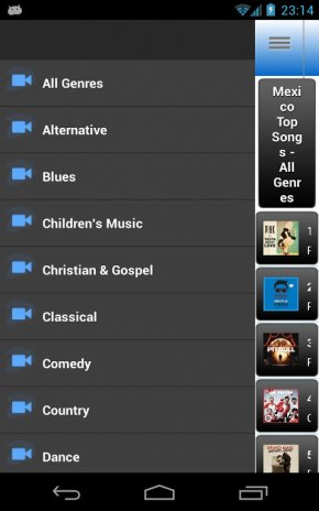 Mexico Top 100 Music Charts 1 1 Download APK for Android