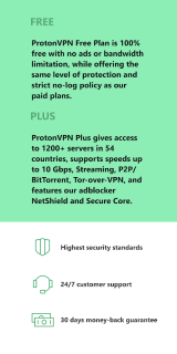 Proton VPN - Free VPN, Secure & Unlimited screenshot 5