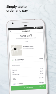 Uber Eats: Local food delivery screenshot 3