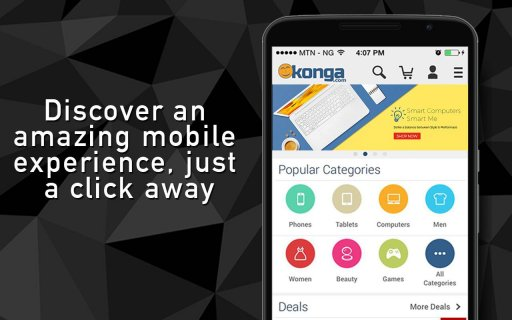 Konga Online Marketplace screenshot 1