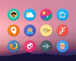 Pixel Icon Pack-Nougat Free UI Screenshot