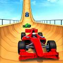 US Police Formula Car Stunt Racing Game 2020