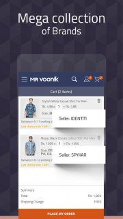Mr Voonik - Online Shopping App screenshot 6