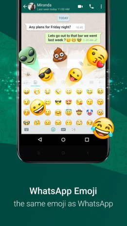 Clickey Express Status Downloader Emoji Keyboard 1000