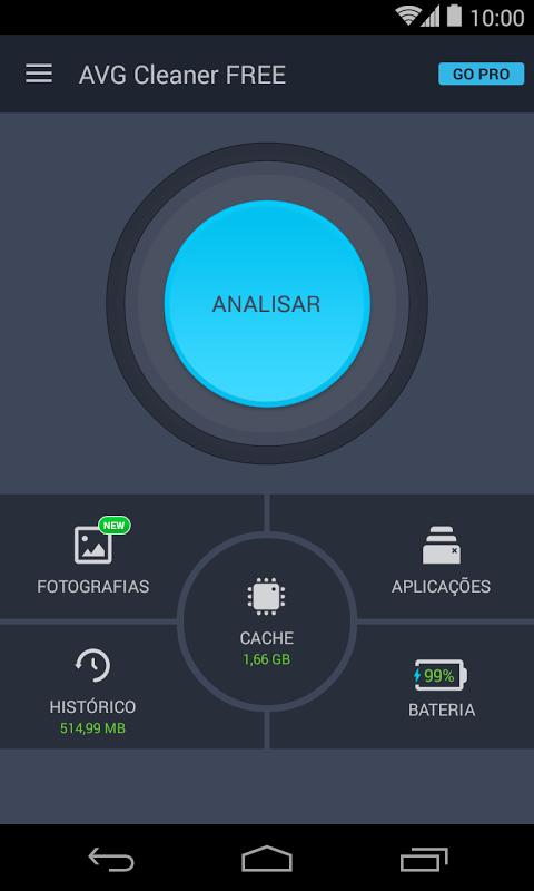AVG Cleaner – Melhorador, Limpador e Economizador screenshot 1