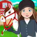 My Horse Stable Life: Pretend Farm Town