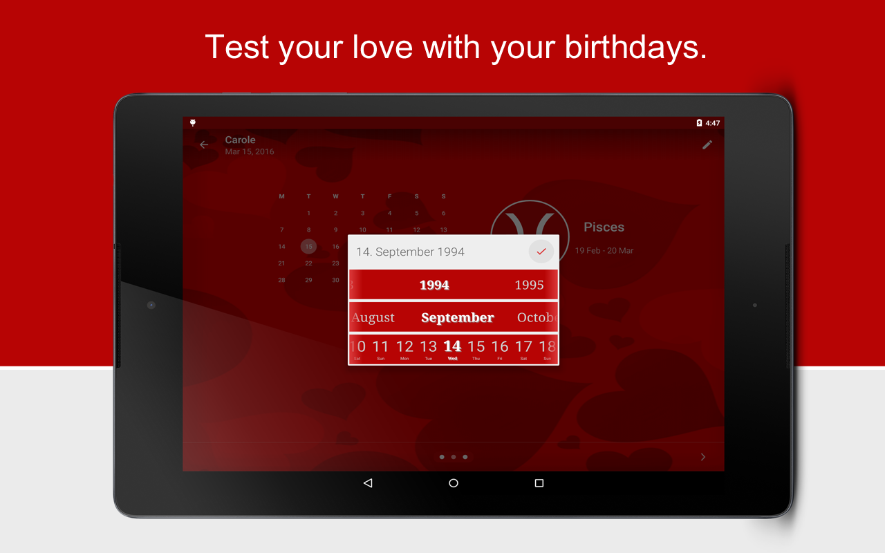 Love Test calculator screenshot 9