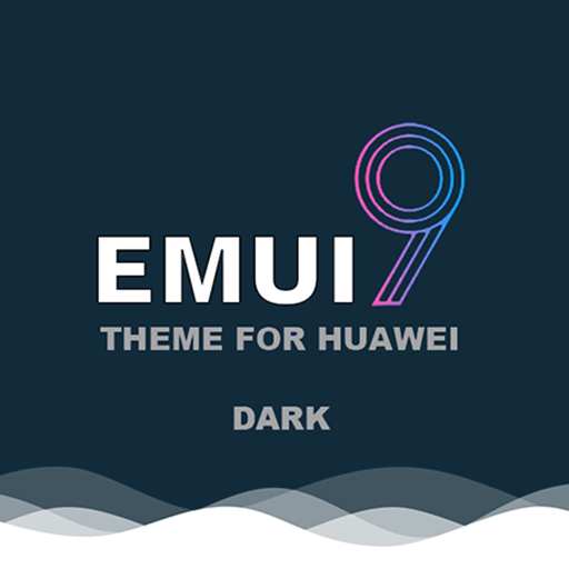 Theme Emui-9 Dark for Huawei