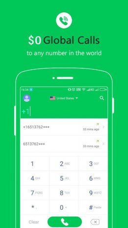 Free Calls - International Phone Calling App 1 7 8 Baixar
