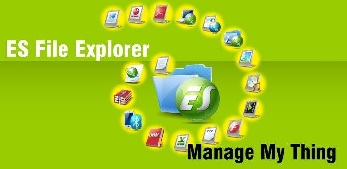 apkpure es file explorer manager pro