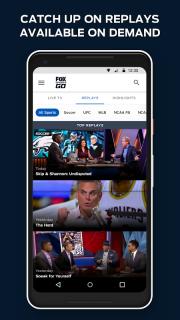 FOX Sports GO: Watch Live screenshot 5