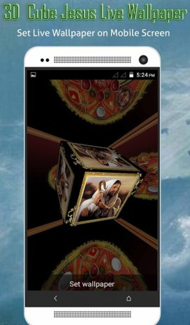 Jesus 3d Cube Live Wallpaper 111 Download Apk For Android Aptoide