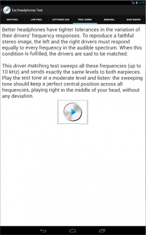 Ultimate Ear/Headphone Test 1 1 Download APK for Android