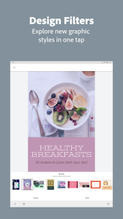 Adobe Spark Post: Graphic Design & Story Templates screenshot 3