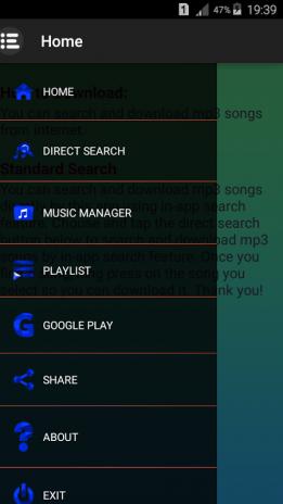 aplicativo baixar musica mp3 android