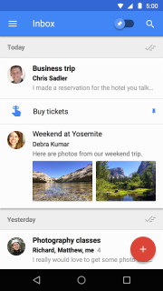 Inbox by Gmail screenshot 5