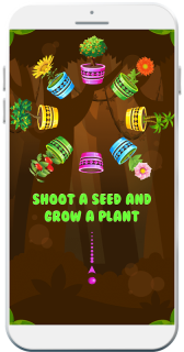 Seed Shooter - Joy of Growing Trees & Plants 🌴🌱 screenshot 1