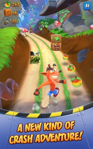 Crash Bandicoot: On the Run! screenshot 14