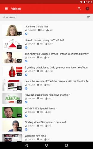 YouTubeStudio screenshot 11