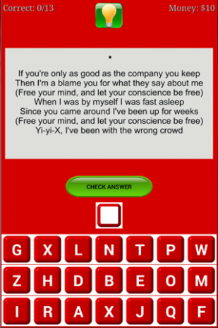 Lyrics Quiz Chris Brown 1 0 Download APK for Android - Aptoide