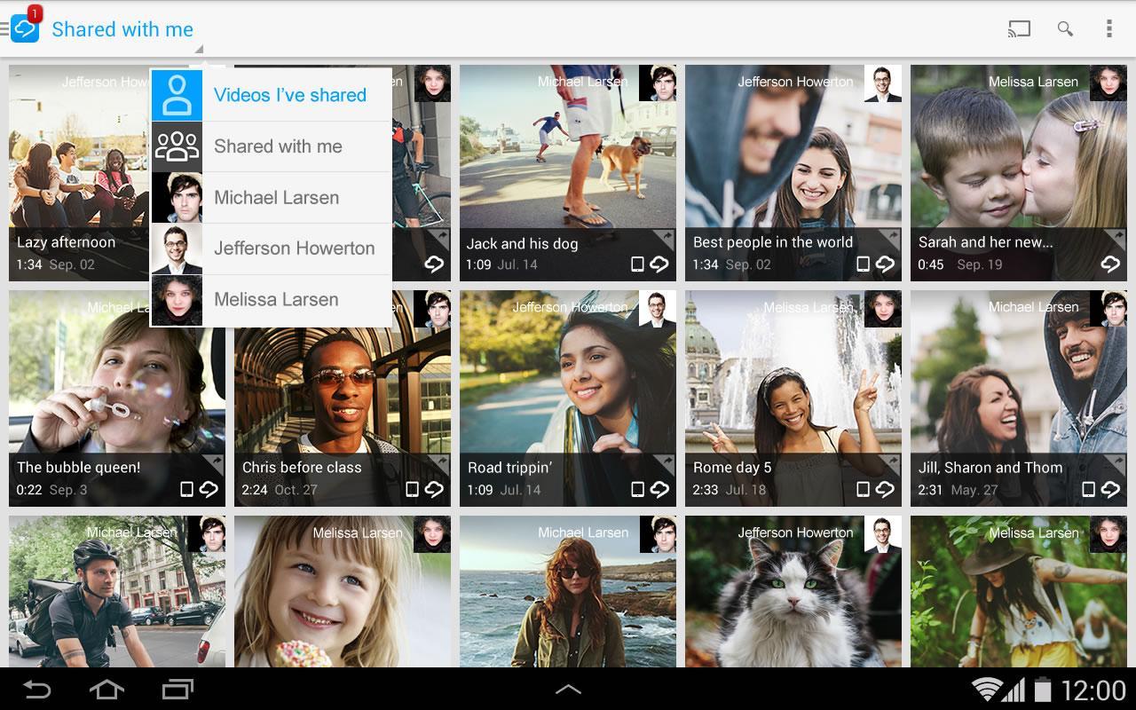 RealPlayer Cloud screenshot 2