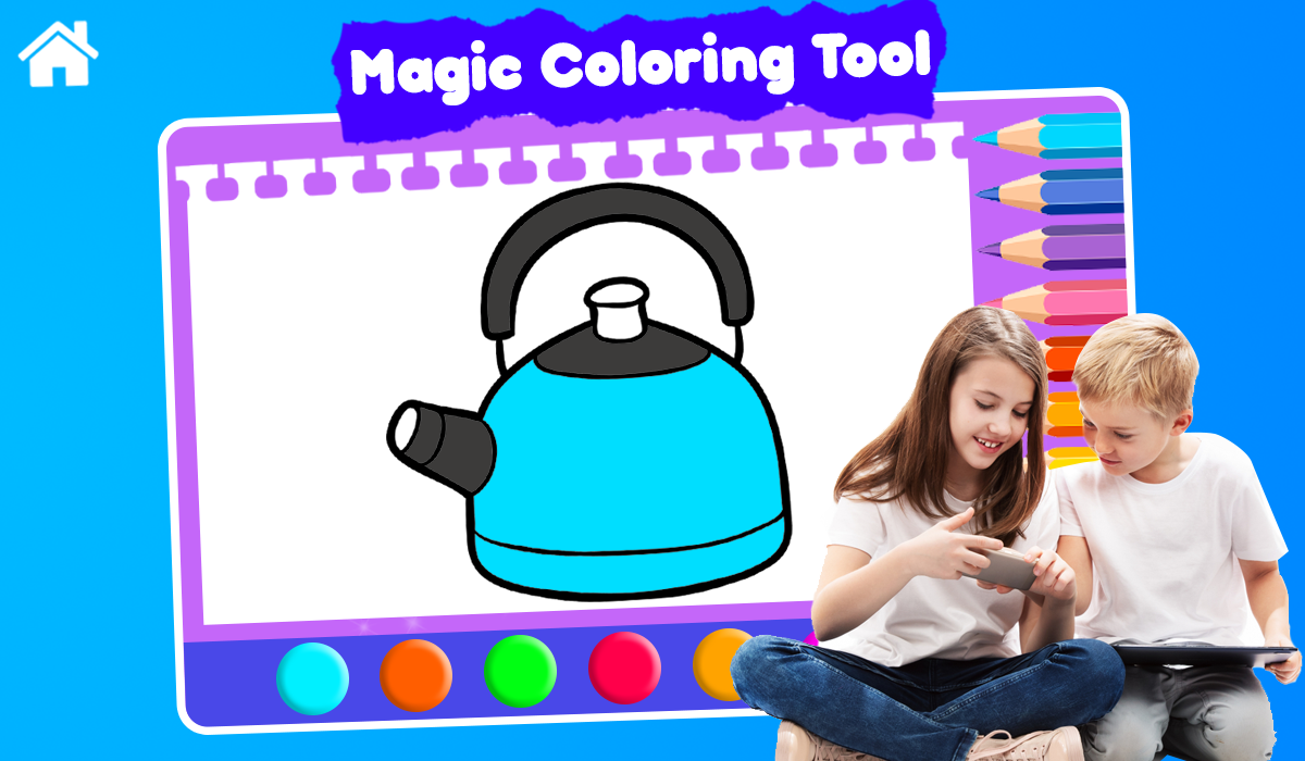 - Kitchen Cooking Coloring Book - Kids Coloring Pags 1.0 Download Android APK  Aptoide