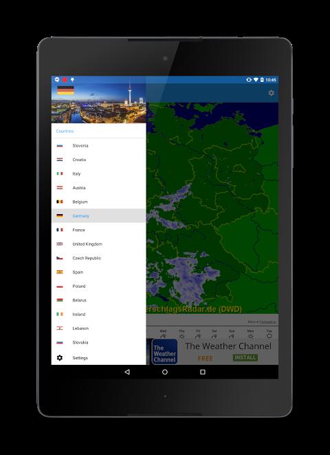 Rain Radar screenshot 2