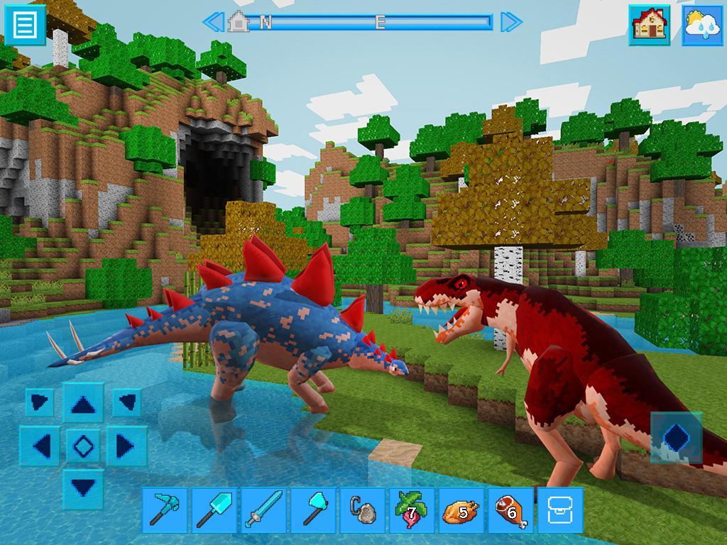 DinoCraft Survive & Craft Pocket Edition screenshot 1