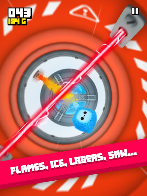 Fluffy Fall: Fly Fast to Dodge the Danger! screenshot 7