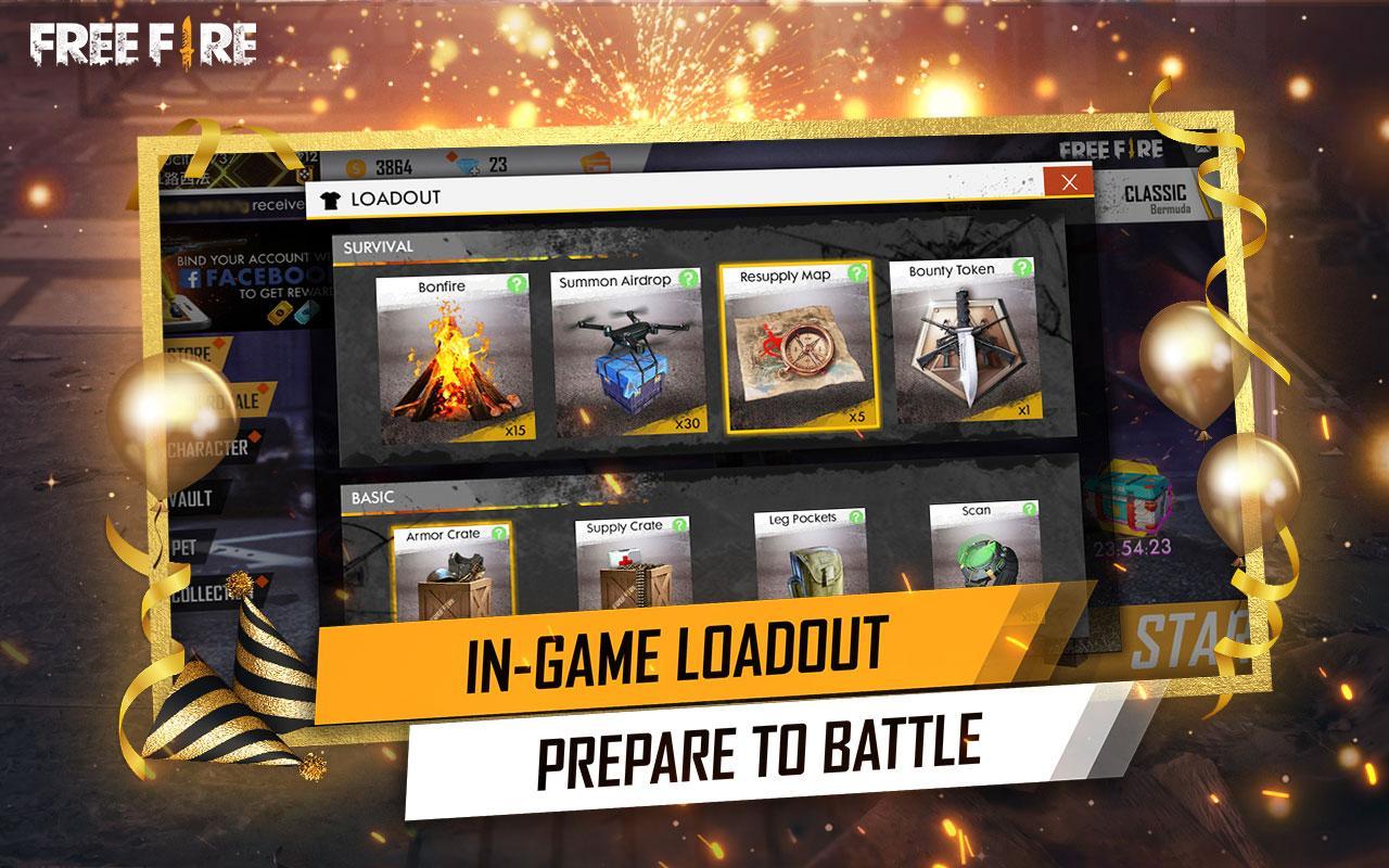 Garena Free Fire - Anniversary screenshot 1