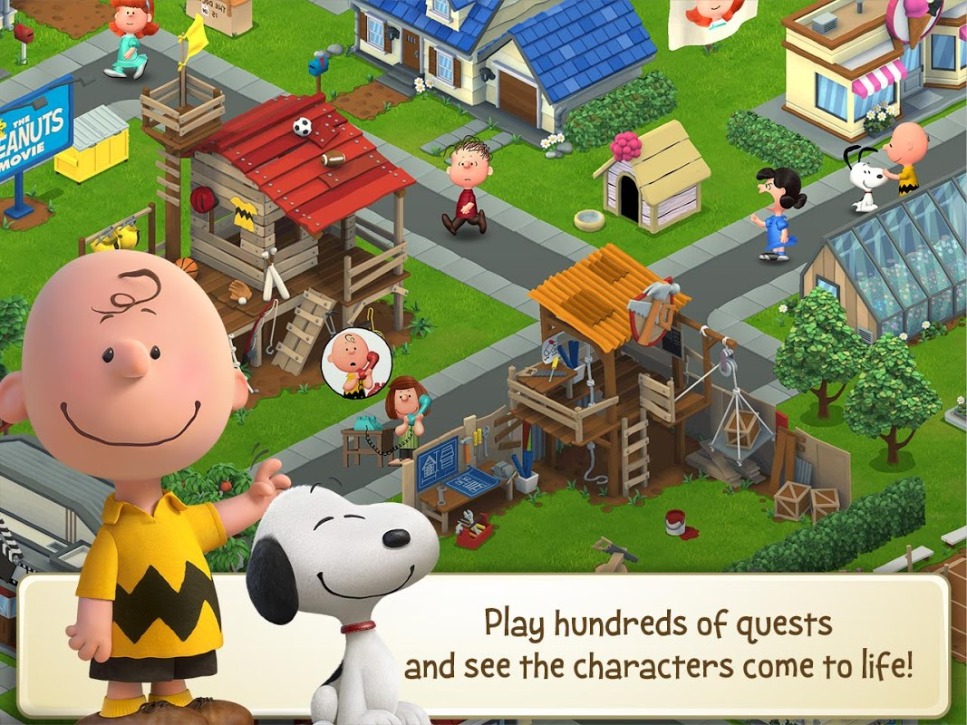 Snoopy's Town Tale - City Building Simulator screenshot 2