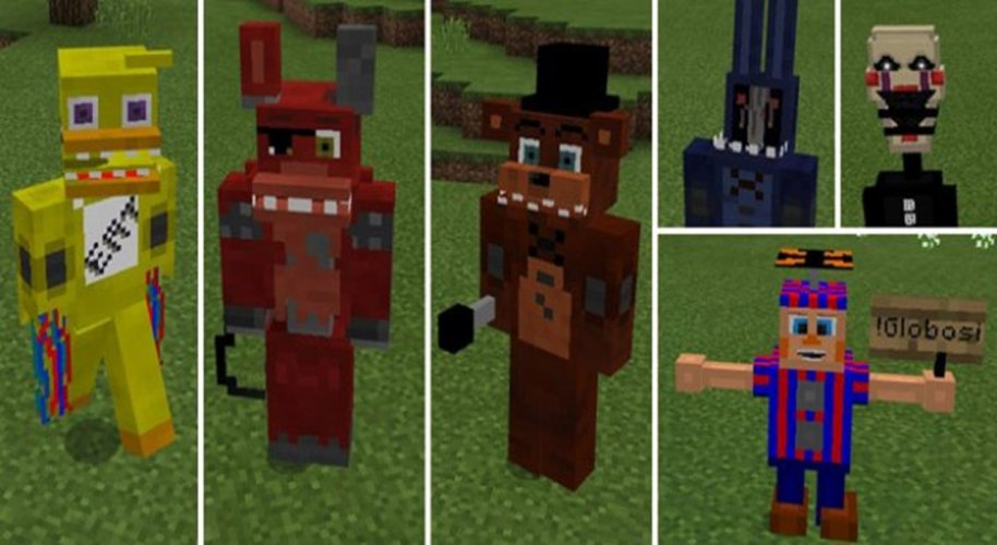 Five Nights At Freddy's For Minecraft 1.0 Download Android APK | Aptoide