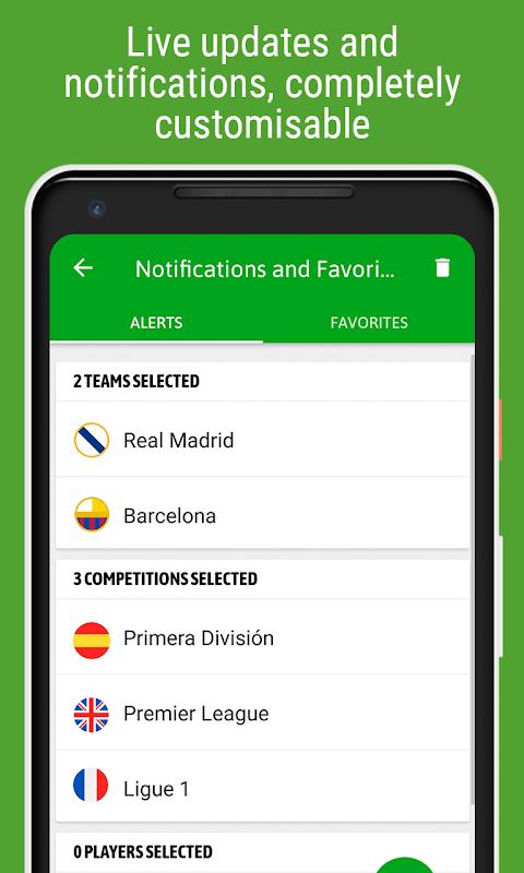 BeSoccer - Football Live Score screenshot 2