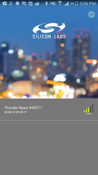 Thunderboard screenshot 1