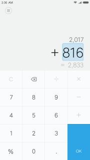 Mi Calculator screenshot 2