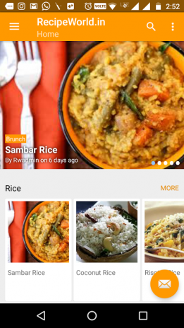 Free indian recipes app 10 download apk for android aptoide free indian recipes app screenshot 1 forumfinder Images